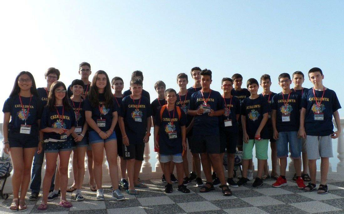 Delegació Catalana Campionat d'Espanya Sub-14
