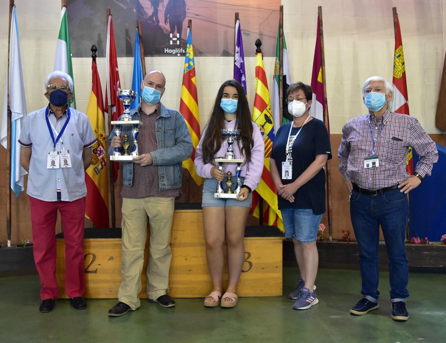 Camp. Espanya parelles mixtes